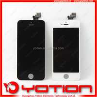Mobile phone glass for iphone 5g lcd complete