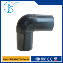 ISO CE Certificated Butt Fusion HDPE 45 Degree Pipe Bend