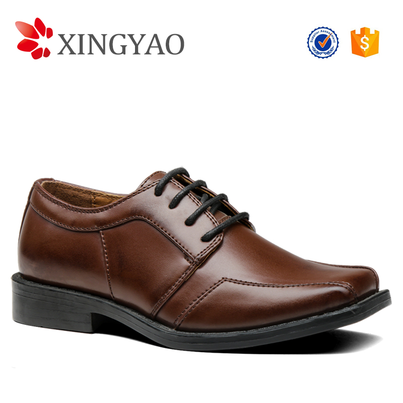 2017 Fashion Boys Dress Shoes, Lace Up Children Dress Shoes, High Quality Dress Shoes For Kids