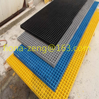 Red/yellow/green acid-resisting composite frp grating factory wholesale
