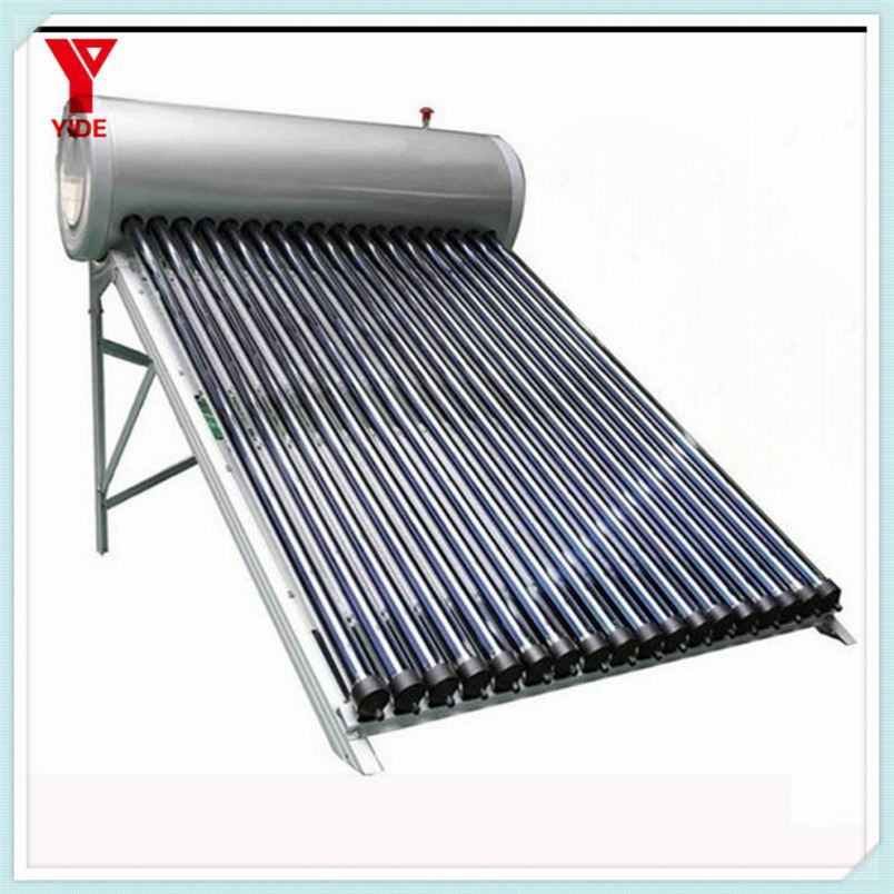 Compact pressurized solar water heater project funding