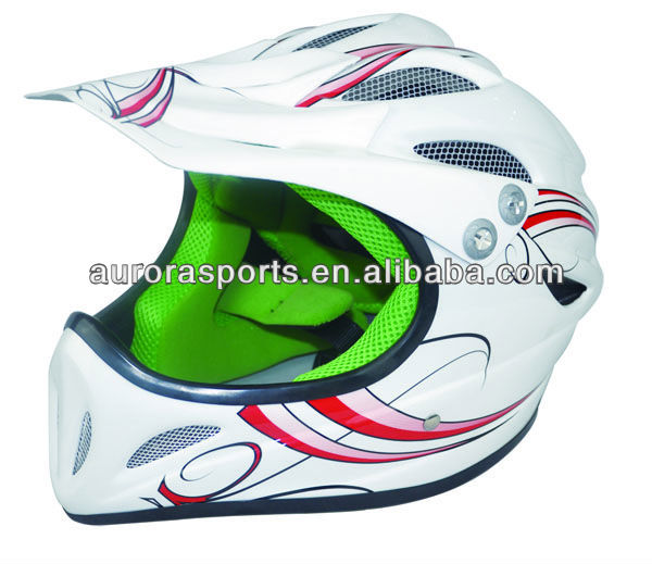 hot promotion off road helmet,full face helmet with visor