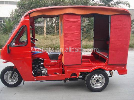 2016 DAYANG chongqing 150cc air cooled Enclosed Bajaj 3 wheel passenger three motorcycle for sale