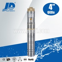QGDa Stainless Steel deep well submersible pump 2 inch diameter 220V/380V
