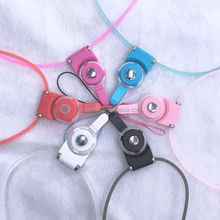 48cm High Quality Fashion Convenient And Safety Mobile Phone Hang Rope With Light hang rope