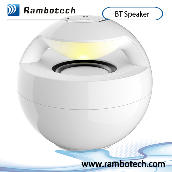 Wireless Round Bluetooth Speaker,Excellent sound blooth Speaker handsfree function fashionable look