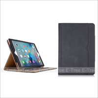 Flip Leather Stand Folio Sleep & Weak Function Cover Case For iPad Pro