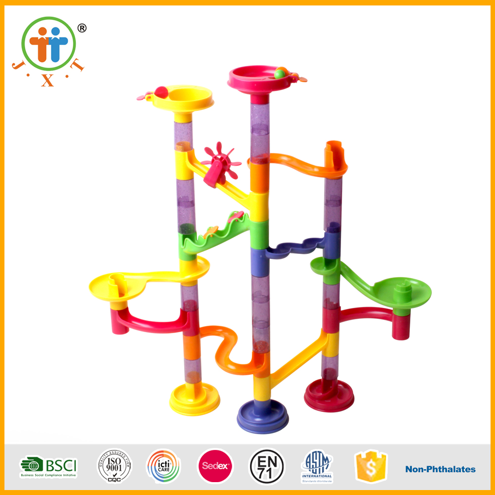 Wholesale marble run maze toy 45pcs kids puzzle with best price