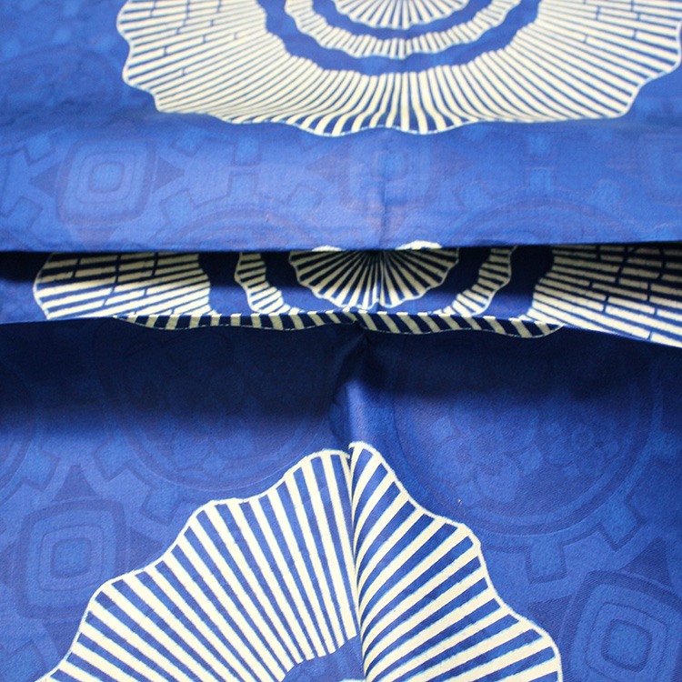 100% cotton ankara wax fabrics for garment of YJ160101