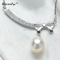 Latest real freshwater pearl necklace