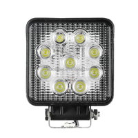 27W LED Work Lights Agricultural Industrial Construction Machinery LED Auto Lamp