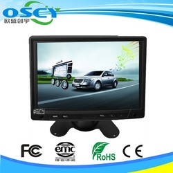 1080P 7 inches tft lcd color monitor with 800*480 resistive touch screen lcd controller board