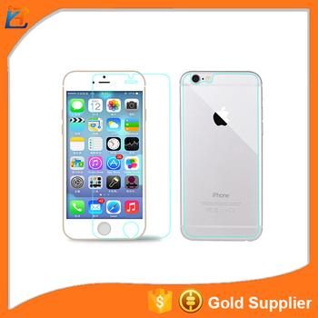 2017 factory price tempered glass 0.26mm tempered screen protector for iphone 6 plus
