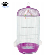 Top sale small metal round bird cage with stand images
