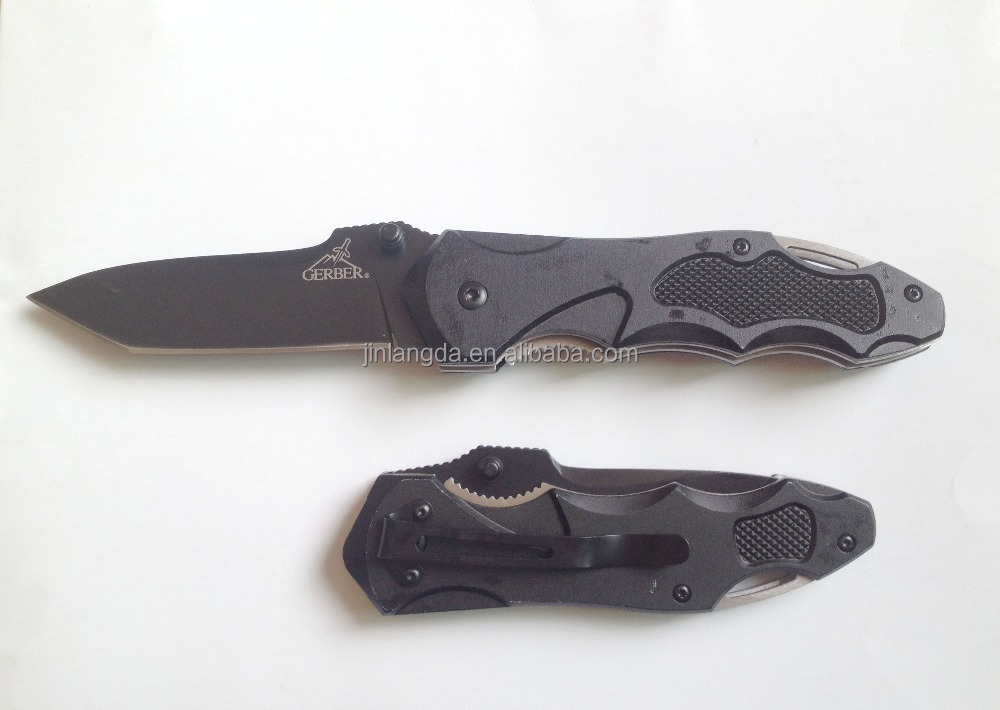 Stainless steel Tactical survival Hunting Camping folding pocket <strong>knife</strong>