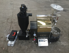 Huahong 1 kg electric heating type/ gas heating original stainless automatic coffee roaster price