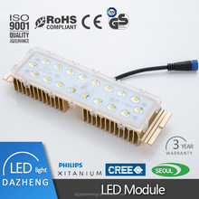 Simple installation 100lm/w led street light module 60watt from China
