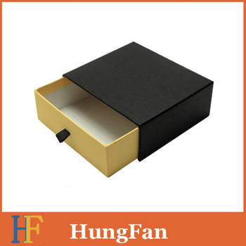 Manufacturer Supplier Embossing packaging gift drawer box with best quality and low price