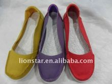 2012 fashion casual canvas shoe women