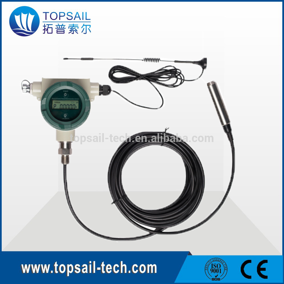 Telemetry Oil level measurement for urban supply line