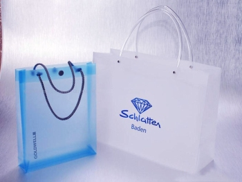 PVC PROMOTION BAG, CLEAR PVC BAG