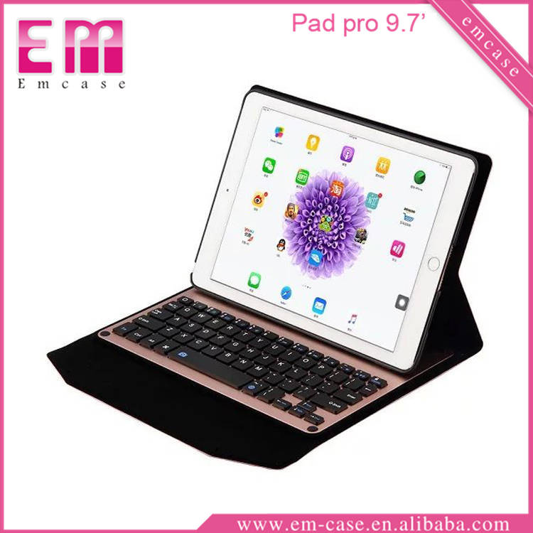 "Tablet covers cases Bluetooth Keyboard for iPad pro 9.7"" leather case"