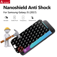 Mobile Phone Screen Protector For Samsung Galaxy J5 2017 Hammer Nano Shield Anti Shock Screen Protective Film