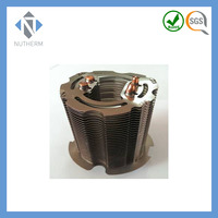 Nutherm led heat sink with heat pipe