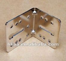 china price competitive galvanized stainless steel L shape bracket manufacturer