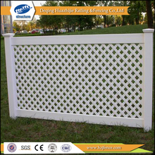 plastic lattice fence