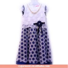 Latest Designs Girls Popular Frocks Kid Beaded Dress