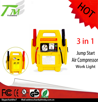 3 in 1 PP material best seller lead-acid battery multi-function jump starter