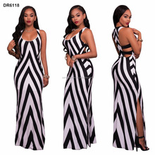 Clothes manufacturer cheap wholesale African new designs print styles summer sexy long maxi dresses for women