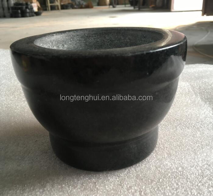 2017new design Stone Mortar and Pestle Granite stone spice grinder