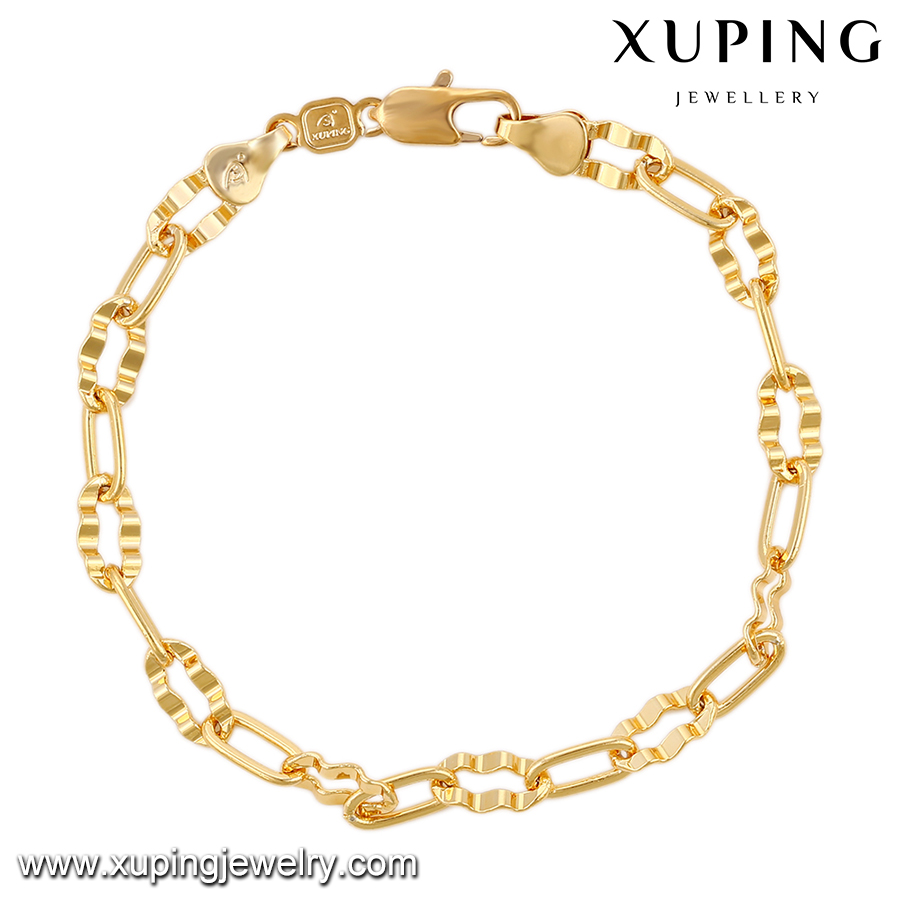 74393 Xuping fashion gold jewelry women bracelet withot stone