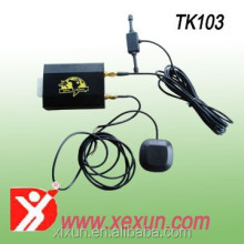 easy install car gps tracker Xexun TK103-2 bicycle personal gps watch tracker for senior citizen
