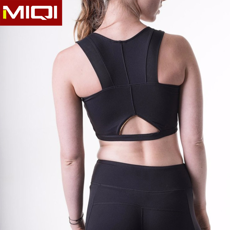 Fashion Pure Yoga Clothing Fitness Ladies Crop Top Custom Service