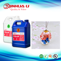 Popular & Super Crystal Clear Epoxy Resin for Crafts & Arts Making Mixing Ratio A:B=1:1 Resin
