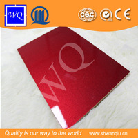 Waterproof mdf board/UV paint laminated mdf board