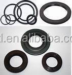 flat rubber o ring in high quality