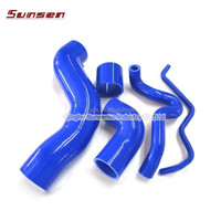 TURBO Boost intercooler Silicone Radiator Coolant Hose FOR BMW E46 M3/330/328/325 99-06 M52 M54 S54