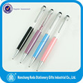 Kingsley Crystal Touch Ball Pen with Blue Crystal Ball Pen
