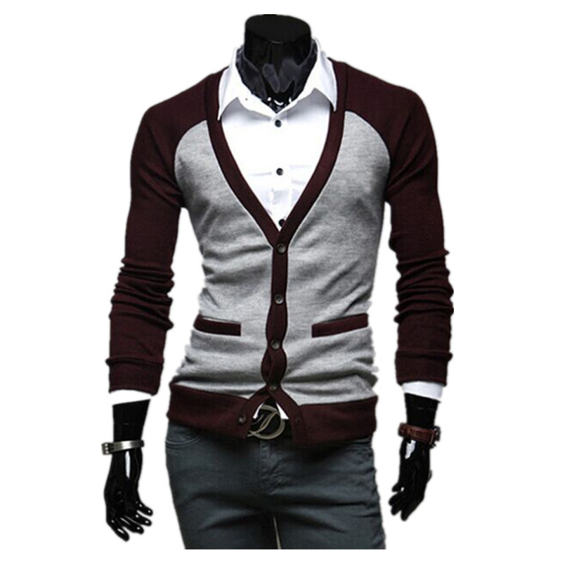 1 pc hot sale 3 colors and 4 size for choice Alibaba suppliers cheap price new design arrival cheap cardigan men sweater