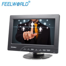 7 inch small VGA HDMI touch screen Monitor LCD 12 volt for car display