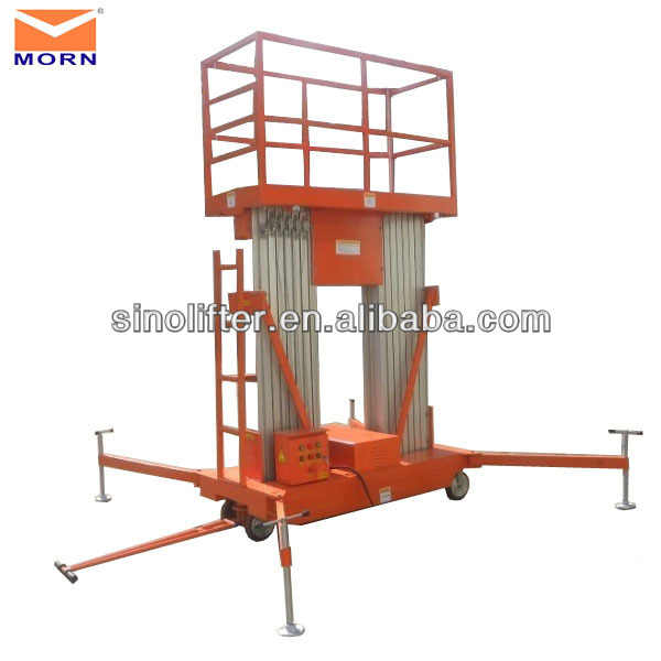 trailing aluminum hydraulic pipe lift
