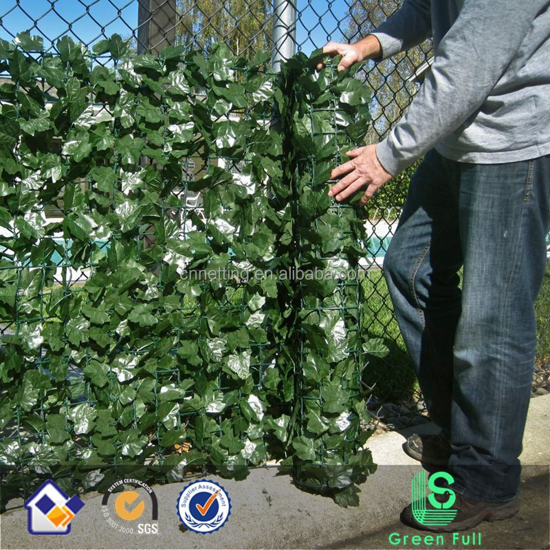 Ivy Hedge Fencing Artificial Outdoor Privacy Fence Decor Screen Edging Yard