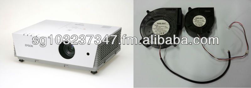 EMP6100 Projector Big and Small Snail Shell Fan Spare Part