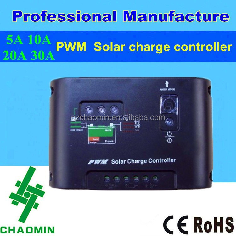 12v solar panel charge controller inverter 5A 10A 20A 30A