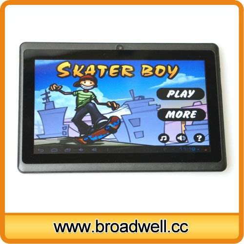 Best Selling 7 inch Allwinner A13 Cheap Android 4.0 Children Pad