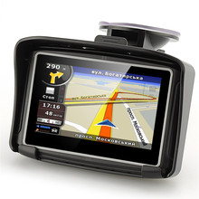 4.3 Inch Waterproof Motorcycle GPS Navigator with Free maps